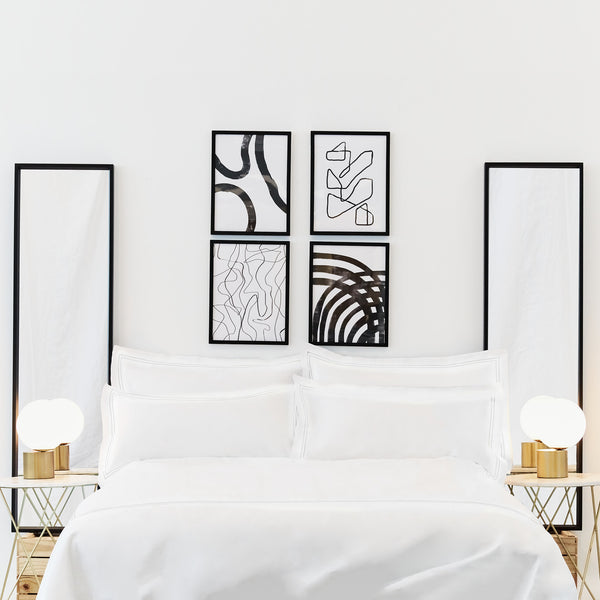 Luxe Cotton - Whisper White Duvet Cover