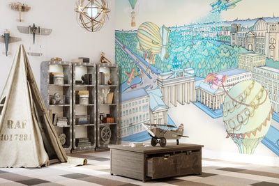 Hand Drawn Wallpapers With Stories For Kids Lily And The Wall