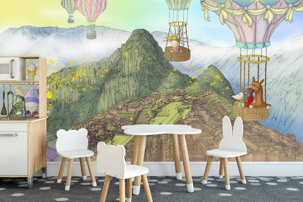 Nursery Wallpaper - The Mystery of Machu Pichu