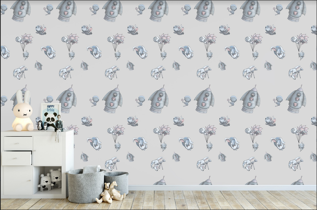 [Unique Kids Rooms Wallpapers & Illustrations] - Lily And The Wall