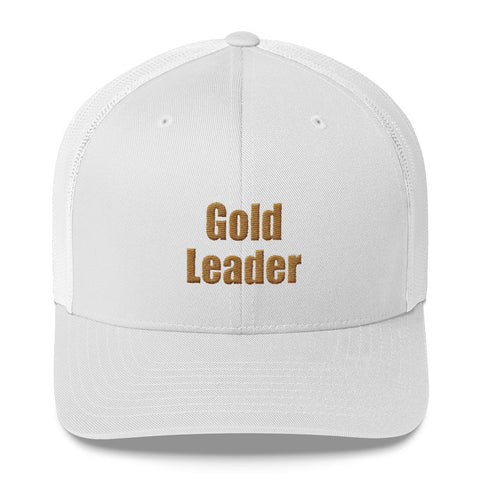 Gold Leader - Trucker Cap