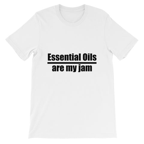 Essential Oils are My Jam - Unisex short sleeve t-shirt