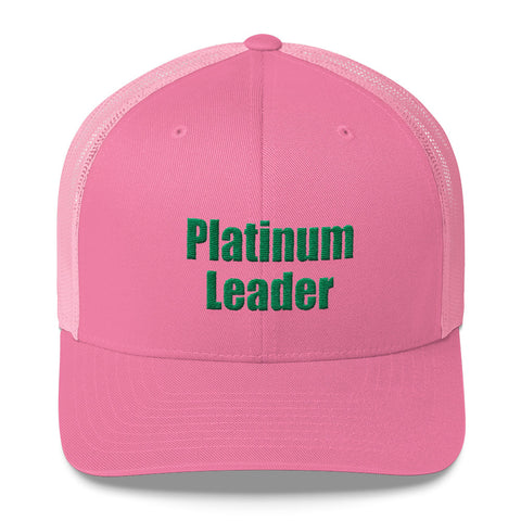 Platinum Leader - Trucker Cap
