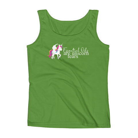 Essential Oils are Unicorn Tears - Ladies' Tank
