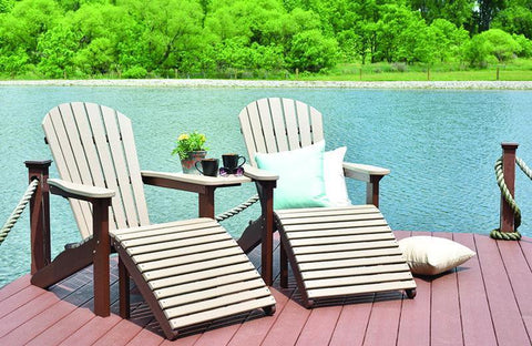Image of Berlin Gardens Berlin Gardens Comfo-Back Adirondack Chair