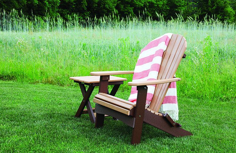 Berlin Gardens Berlin Gardens Comfo-Back Folding Adirondack Chair