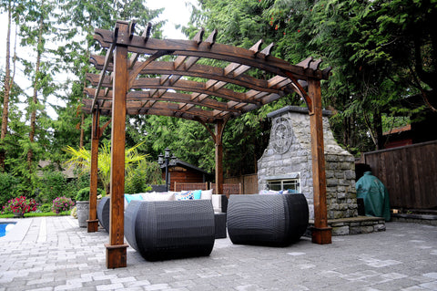 ... 12; Image of Outdoor Living Today Outdoor Living Today Arched Breeze  Pergola Kit 10' x ... - Outdoor Living Today Arched Breeze Pergola Kit 10' X 12' BZ1012ARCH
