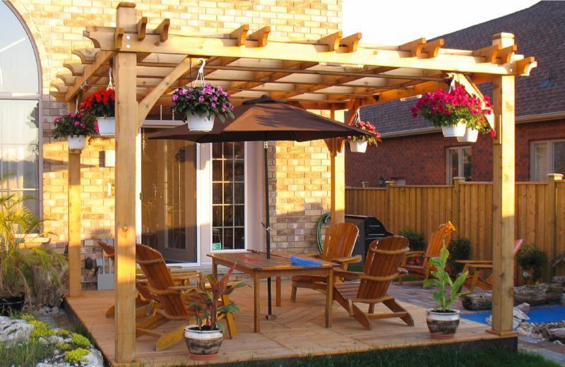 Hover to zoom - Outdoor Living Today Breeze Pergola Kit 10' X 10' BZ1010 – Peaceful