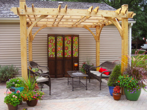 Image of Outdoor Living Today Outdoor Living Today Breeze Pergola Kit 10' x 10'