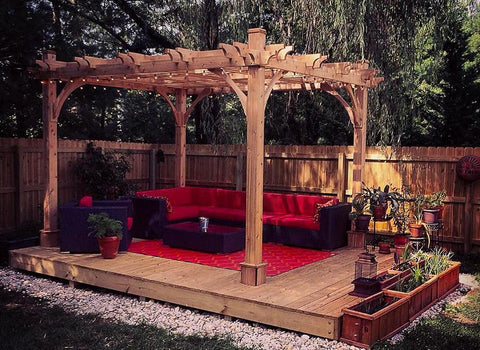 Outdoor Living Today Outdoor Living Today Breeze Pergola Kit 10' x 10'