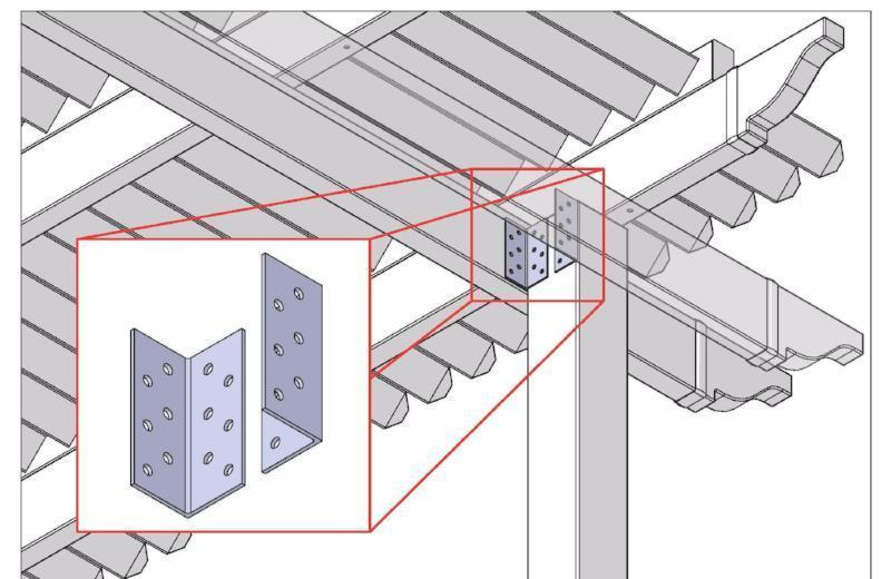 Peaceful Patios Attachment Brackets