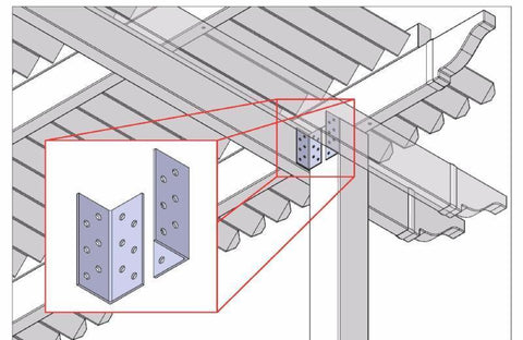 Image of Peaceful Patios Attachment Brackets