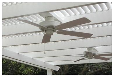 Peaceful Patios Fan Mount