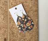 MultiColor Cork Earrings