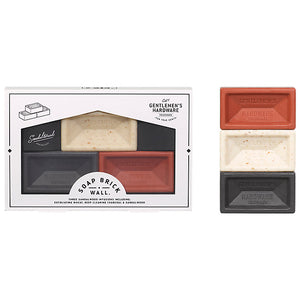 Gentlemen's Hardware - Mini Brick Soaps Set of 3