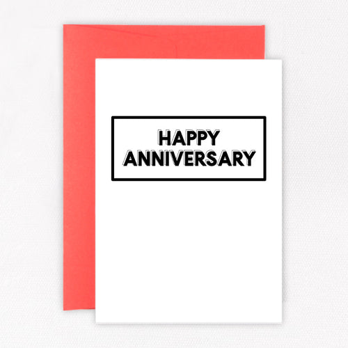 Happy Anniversary Card - Sorted Gifts