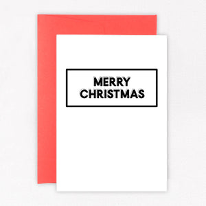 Merry Christmas Card - Sorted Gifts