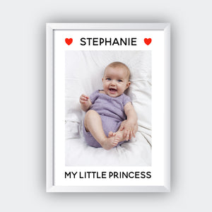 Personalised Baby Name Print - Sorted Gifts