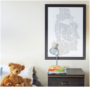 Spineless Classics - A Bear Called Paddington Print