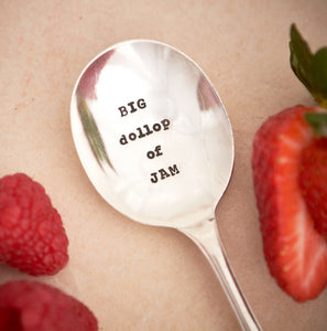 Big Dollop Of Jam Teaspoon - Sorted Gifts