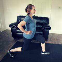 Front Lunge Kick 1