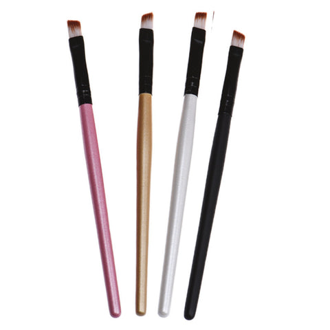 4 Colorful Cosmetic Brushes