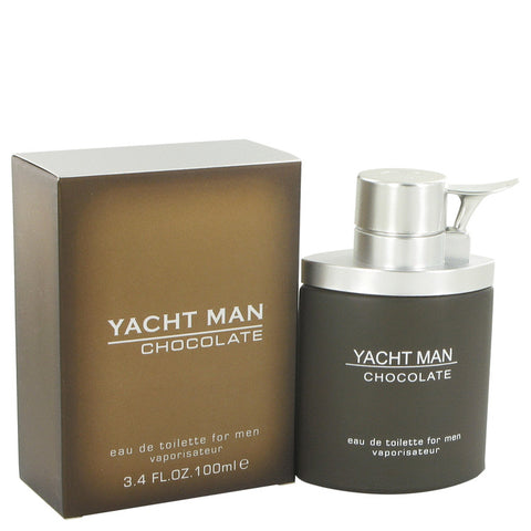 Yacht Man Chocolate Cologne