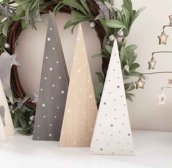 Nordic Wooden Christmas Tree - 3 sizes available