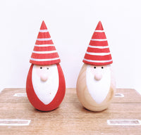 Wooden Santa (2 colours Available)