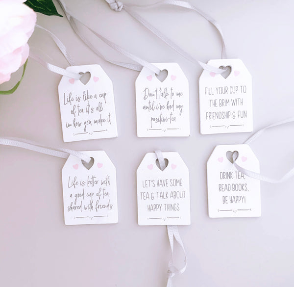 Mini Friendship Tags