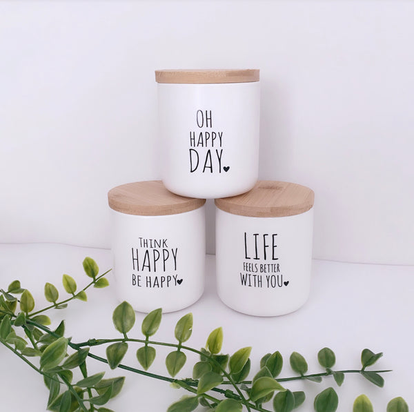 Happy Candles - 3 Styles available