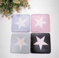 Set of 4 Stone Star Coasters
