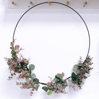 Large Hoop Eucalyptus Wreath
