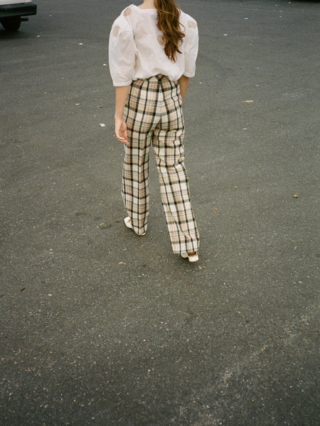 70s Plaid Pants