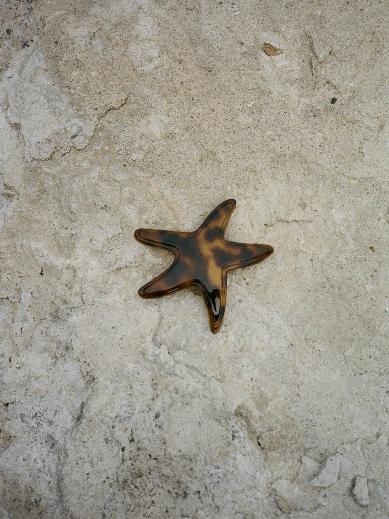 Oversized Starfish Barrette