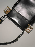 Midcentury Leather Slide Bag