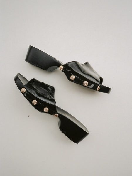 Joan & David Wooden Clogs