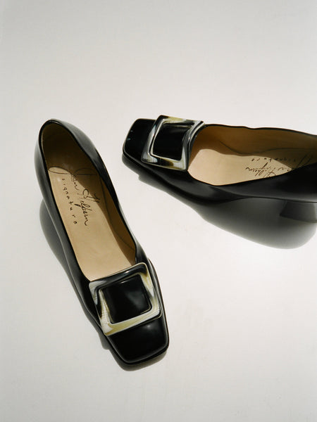 Patent Buckle Pumps (6)