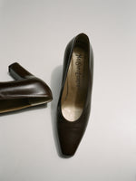 Yves Saint Laurent Chocolate Pumps