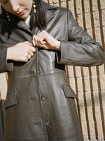 Espresso Leather Jacket
