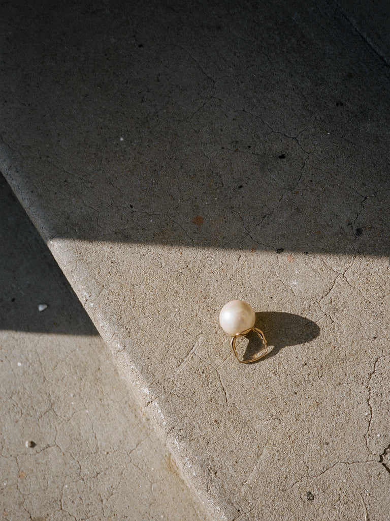 Costume Pearl Cocktail Ring