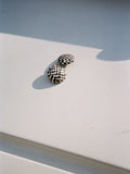 Inlaid Checkerboard Earrings