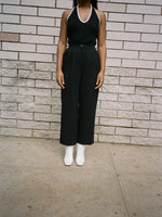 Ungaro Cropped Black Trousers