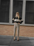 Moschino Optical Stripe Pants