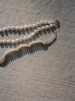 Fringed Faux Pearl Necklace