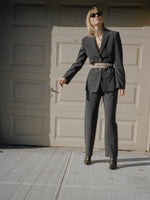 Armani Tailored Charcoal Suit