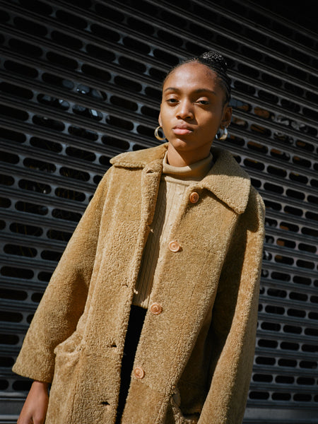 Teddy Shearling Coat