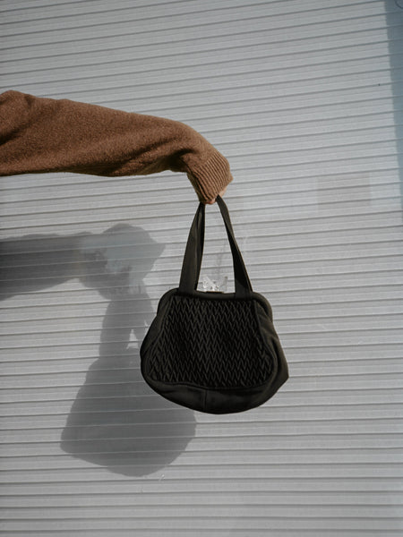 Ice Cube Fabric Handbag
