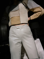 Pearl Leather Pants
