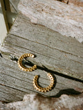 Matte Gold Costume Hoops